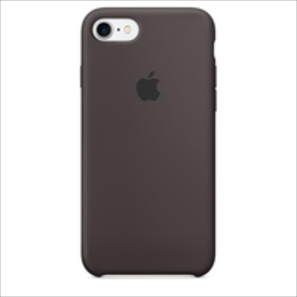 Apple iPhone 7 Silicone Case Cocoa maciņš, apvalks mobilajam telefonam