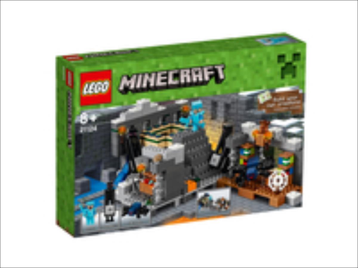 LEGO Minecraft The End Portal 21124 LEGO konstruktors