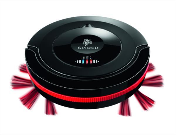 Dirt Devil M607 Spider Robot Vacuum Cleaner, 3 programmes, Vacuums hard floors robots putekļsūcējs