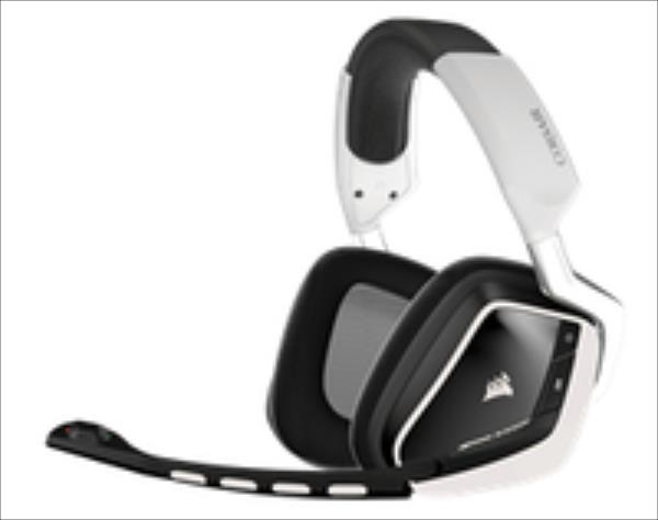 Corsair Gaming VOID Wireless RGB - White, Dolby 7.1 austiņas
