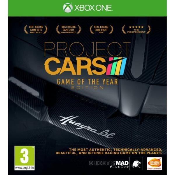 Project CARS Game Of The Year Edition (Xbox One) spēle