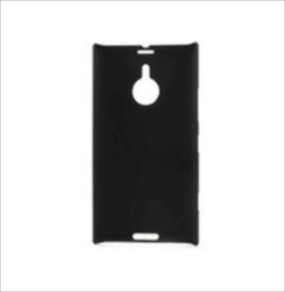 MicroMobile  Rubberized Case - Black Nokia Lumia 1520 maciņš, apvalks mobilajam telefonam