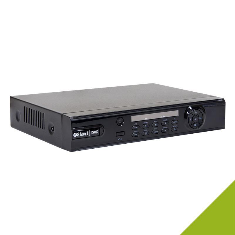 8level 4 AHD recorder DVR 1080p DVR-1080P-041-1 4xBNC 1xFE VGA HDMI SATA USB IP novērošanas kamera