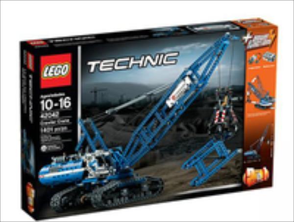 LEGO Crawler Crane  42042 LEGO konstruktors