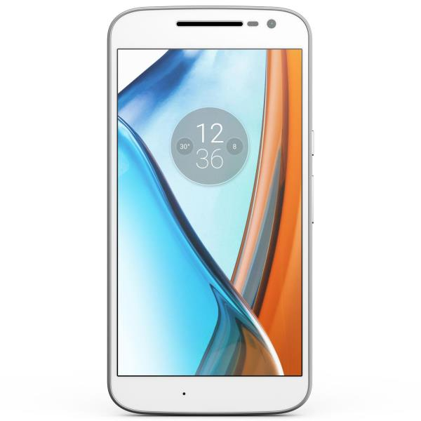 Motorola Moto G4 XT1622 Dual 16GB white Mobilais Telefons