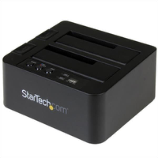 StarTech USB 3.1 HDD DUPLICATOR DOCK - SDOCK2U313R piederumi cietajiem diskiem HDD
