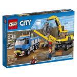 LEGO CITY Excavator and  Truck 60075 LEGO konstruktors