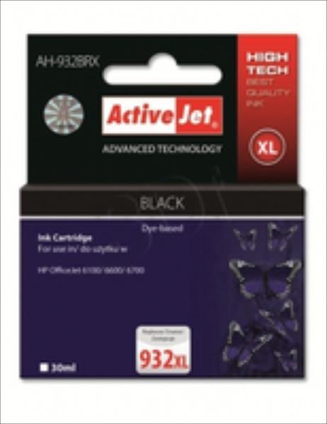 ActiveJet AH-932BRX (aizvietotājs HP 932XL CN053AE) Premium kārtridžs