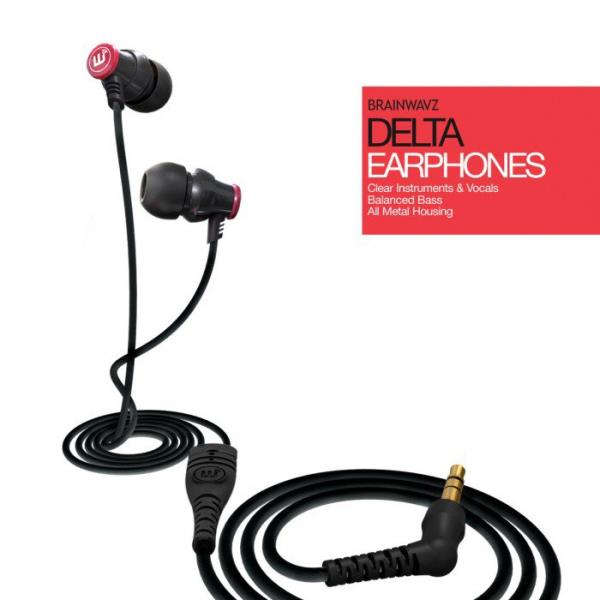 Brainwavz Delta Black + Comply T400