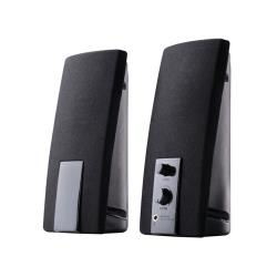 Speakers 2+0 TRACER Cana Black USB datoru skaļruņi
