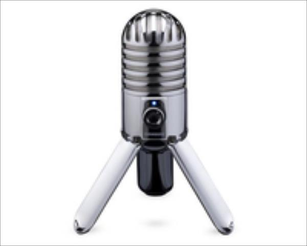 SAMSON Meteor Mic USB Studio Microphone austiņas