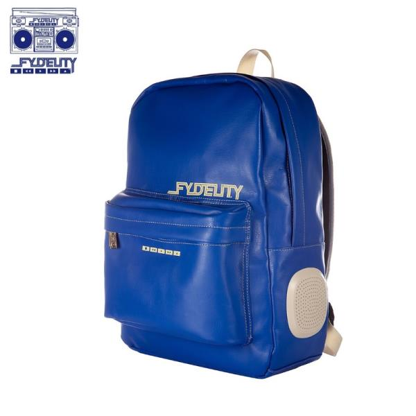 Fydelity Namesake DayTripper Mugursoma ar Skaļruņiem (42x30x13сm) Zila portatīvo datoru soma, apvalks