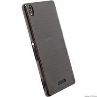 Krusell  Boden Cover Sony Z5 Com. Xperia Z5 Compact, Tr. Black aksesuārs mobilajiem telefoniem