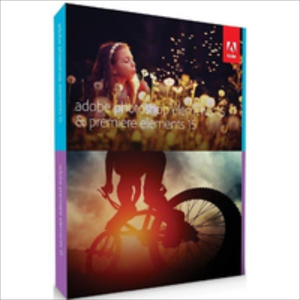 Adobe PHSP & PREM Elements v15, MLP, English, Upgrade, 1 User programmatūra