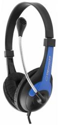 ESPERANZA Stereo Headset with microphone and volume control EH158B austiņas