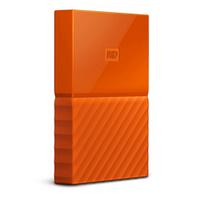 External HDD WD My Passport 2.5'' 4TB USB 3.0 Orange Ārējais cietais disks
