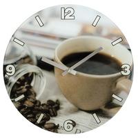 HAMA WALL CLOCK 'COFFEE' Sienas pulkstenis