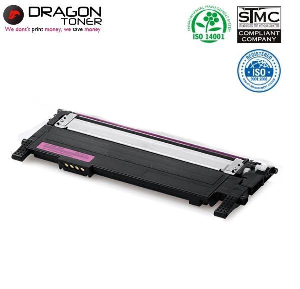 Dragon Samsung CLT-M406S Sarkana Lāzerdrukas kasete priekš CLP-365W SL-C410W 1K Lapas HQ Premium Analogs aksesuārs mobilajiem telefoniem