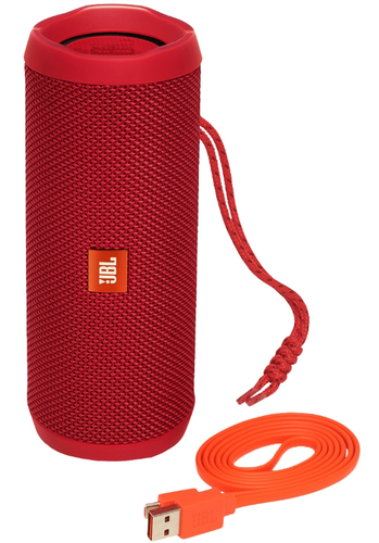 JBL FLIP 4 Bluetooth Red bluetooth pārnēsājamais skaļrunis