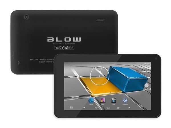 BLOW Black TAB 7.4 HD Planšetdators