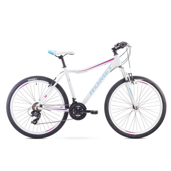 ROMET JOLENE 26 1 MTB 19-L R26 BALTS kalnu velosipēds MTB