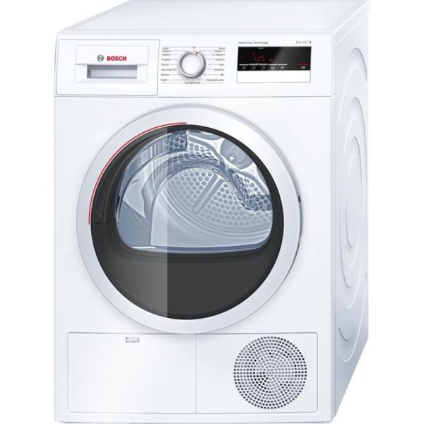 Bosch WTH85207SN Dryer Machine/7KG/A++/65dB/LED Display/SensitiveDry/AutoDry/ TouchControl/White Veļas žāvētājs