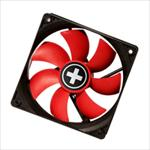 CASE FAN 120MM REDWING BIG4PIN/12V COO-XPF120.R XILENCE dzesētājs, ventilators