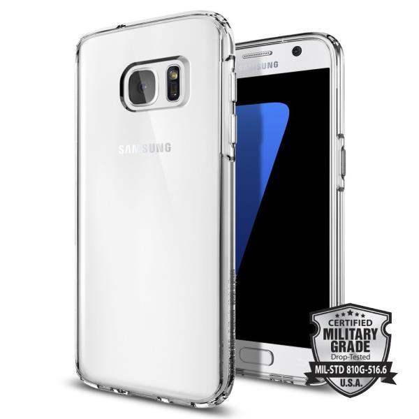 Spigen Liquid Ultra Clear Samsung Galaxy S7 maciņš, apvalks mobilajam telefonam