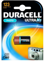 Duracell Batterie Ultra Photo Lithium 123 (CR17345)     1St. UPS aksesuāri