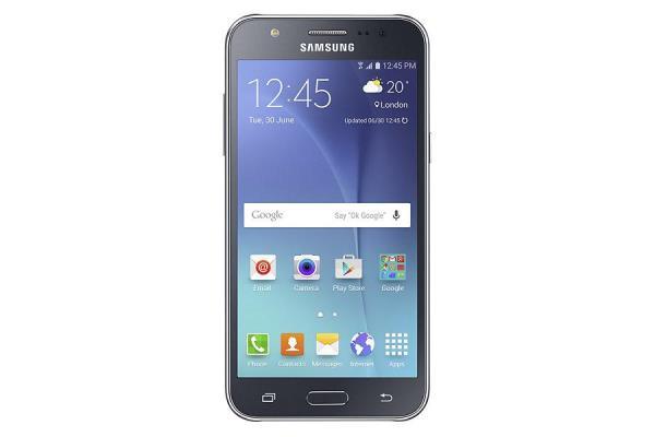 Samsung J700H DualSim Galaxy J7 black Mobilais Telefons