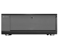 Silverstone SST-GD10B Grandia Desktop - black Datora korpuss