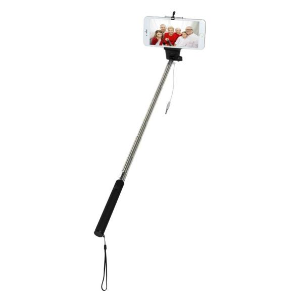 VAKOSS SELFIE Stick with cable minijack 3,5mm  ST-1615K black Selfy Stick