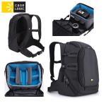 Case Logic DSB102K mugursoma digitālām spoguļkamerām ar rokturi un plecu siksnu Melna portatīvo datoru soma, apvalks