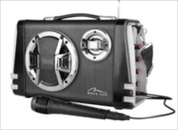 MediaTech Karaoke Boombox BT with mic. datoru skaļruņi