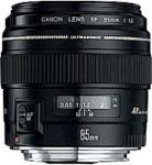 CANON EF 85mm f/1.8 USM foto objektīvs