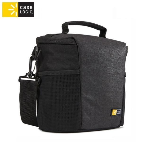Case Logic MDM101 Universāla (Ārējie 21.5x12x21.5cm) soma spoguļkamerām ar pleca siksnu Melna soma foto, video aksesuāriem