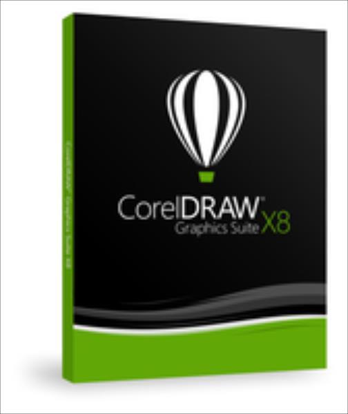 CorelDRAW GS X8 PL Win  UPG DVD   CDGSX8CZPLDPU programmatūra