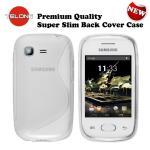 Telone Back Case S-Case gumijots telefona apvalks Samsung S5310 Pocket Neo Caurspīdīgs aksesuārs mobilajiem telefoniem