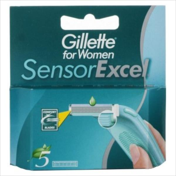 Gillette Sensor Excel 5pc