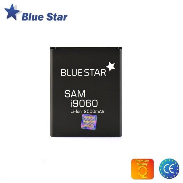 BlueStar Akumulators Samsung i9060 i9802 Glaxy Grand Li-Ion 2500 mAh Analogs EB535163LU aksesuārs mobilajiem telefoniem