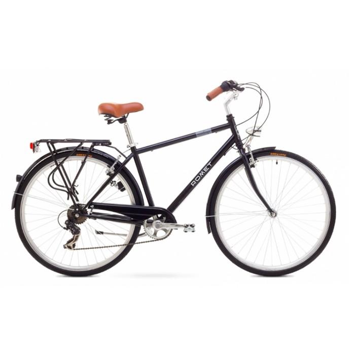 ROMET VINTAGE M CITY XL R28 MELNS Pilsētas velosipēds