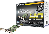 AVerMedia Tuner Hybrid AVerTV Capture HD H727, PCI-e uztvērējs