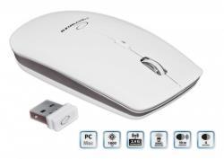ESPERANZA Wireless Mouse Optical EM120W PC/MAC  2,4 GHz   1600 DPI   White Datora pele