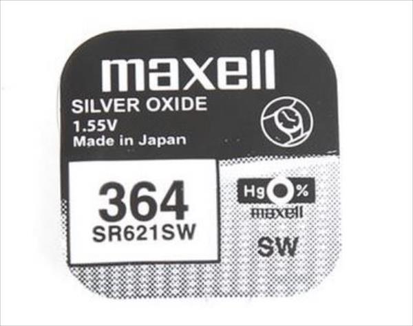 Maxell SR621SW V364 Baterija