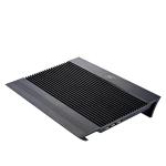 Deepcool Notebook Cooler N8 Black portatīvā datora dzesētājs, paliknis