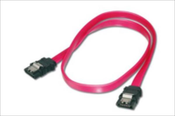 Cable Serial ATA 150 dl.0,5m - With latch for a secure connection kabelis, vads