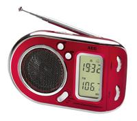 AEG WE 4125 Weltempfanger rot radio, radiopulksteņi