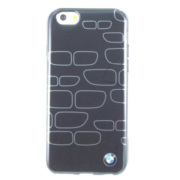 BMW BMHCP6KSGR Super Plāns silikongēla Telefona apvalks iPhone 6 4.7inch Pelēks/Sudrabains (EU Blister) maciņš, apvalks mobilajam telefonam