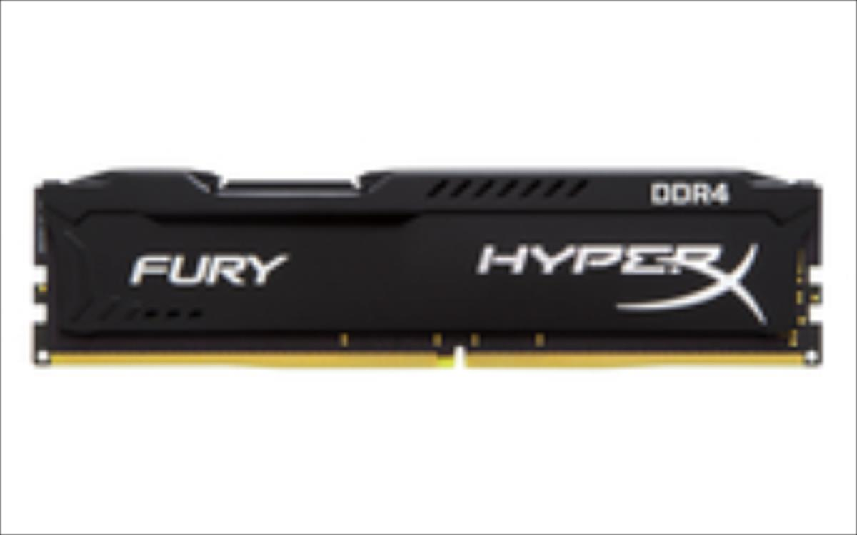 Kingston HyperX FURY 8GB 2400MHz DDR4 CL15 DIMM, black operatīvā atmiņa