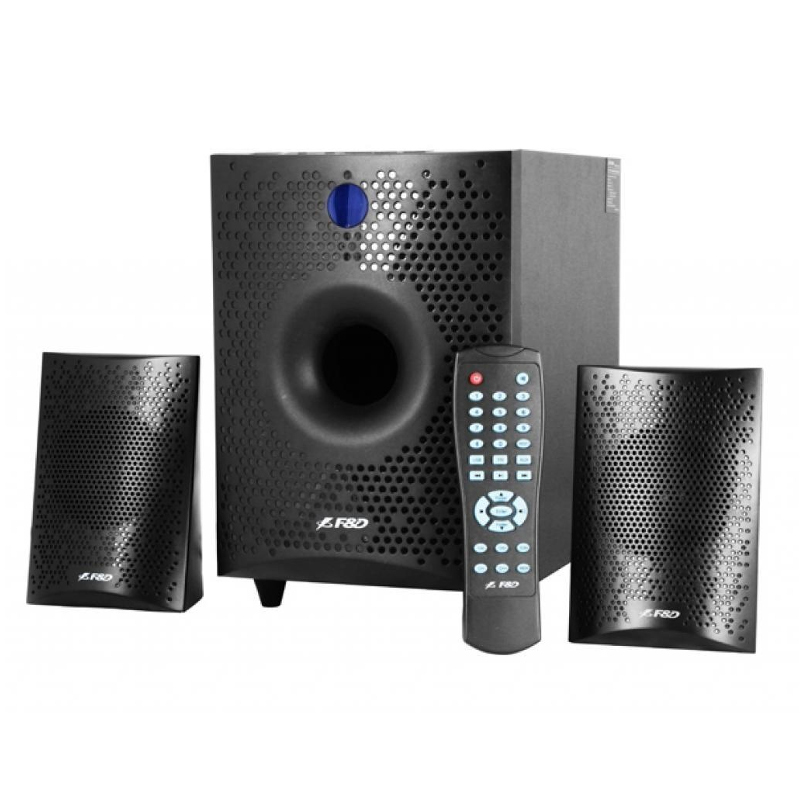 Fenda F&D F210X 2.1 Channel Surround, 15W, 130Hz-20KHz, Subwoofer: 30Hz-130Hz, Bluetooth 4.0, USB/SD datoru skaļruņi